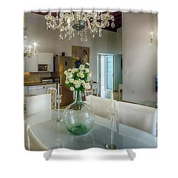 Shower Curtain featuring the photograph Apartment In The Heart Of Cadiz Spain 17th Century by Pablo Avanzini