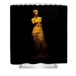 Aphrodite Of Milos Shower Curtain
