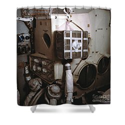 Apollo 13s Mailbox Shower Curtain by Nasa