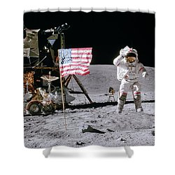 Apollo 16 Shower Curtain