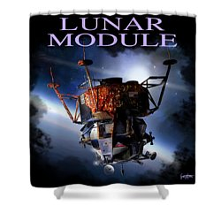Apollo 9 Lm Shower Curtain