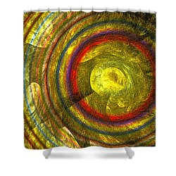 Apollo - Abstract Art Shower Curtain