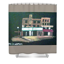 Apollo Theater New York City Shower Curtain