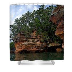 Apostle Islands National Lakeshore Shower Curtain