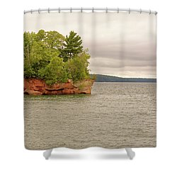 Apostle Islands Shower Curtain
