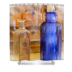Apothecary Shower Curtain by Mary Timman