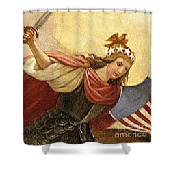 Apotheosis Of Washington 4 Shower Curtain