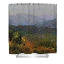 Appalachian Fall Shower Curtain