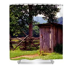 Appalachian Hill-ton Shower Curtain