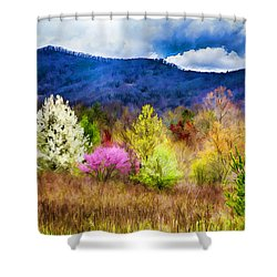 Appalachian Spring In The Holler Shower Curtain