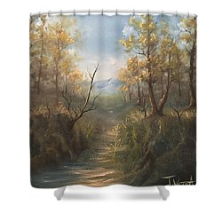 Appalachian View  Shower Curtain