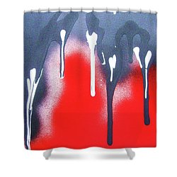 Appeasing The Volcano Shower Curtain