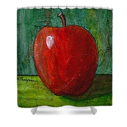 Apple #4 Shower Curtain