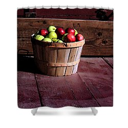 Apple Pickens Shower Curtain