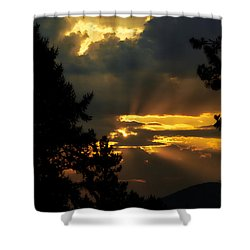 Appreciating Life Shower Curtain