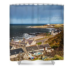 Approaching Rain Shower Curtain