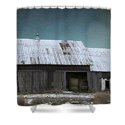 Approaching Storm Shower Curtain by Kathie Chicoine