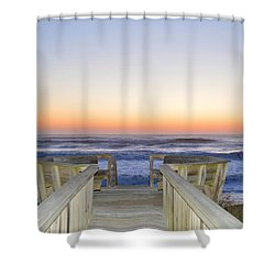 April 2016 Sunrise Shower Curtain