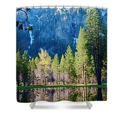 April Reflection Shower Curtain
