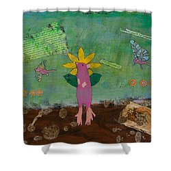 April Showers Shower Curtain
