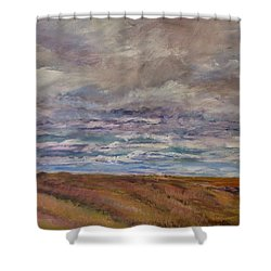 April Wind Shower Curtain