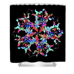 Aqua Extreme Mandala Shower Curtain