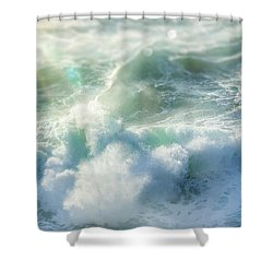Aqua Surge Shower Curtain