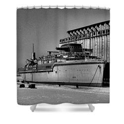 Aquarama Shower Curtain
