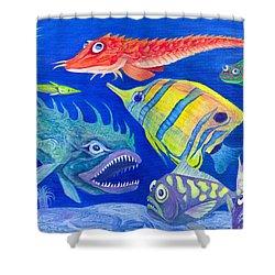Aquarium 1 Shower Curtain