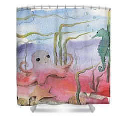 Aquatic Bliss Shower Curtain