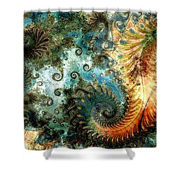 Aquatica Shower Curtain