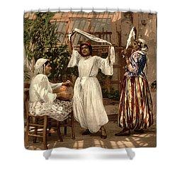 Arab Dancing Girls - Remastered Shower Curtain