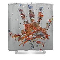 Arab Spring One Shower Curtain