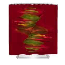 Arabesque Shower Curtain by Giada Rossi
