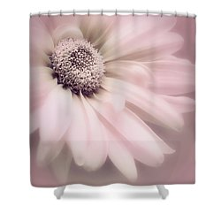 Shower Curtain featuring the photograph Arabesque In Ballet Pink by Darlene Kwiatkowski