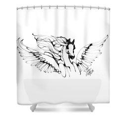 Arabian Angel Shower Curtain