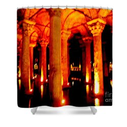 Arabic Nocturn A Shower Curtain