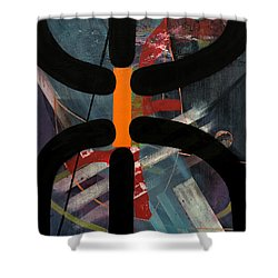 Arachnophobia Shower Curtain by Antonio Ortiz