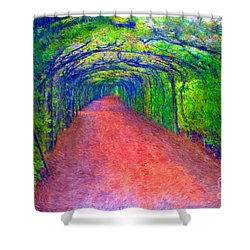 Arbor At Oberhofen Shower Curtain by Gerhardt Isringhaus