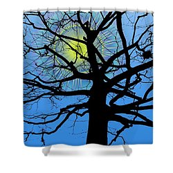 Arboreal Sun Shower Curtain