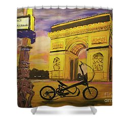 Arc De Triomphe Shower Curtain