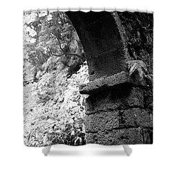 Arc Shower Curtain by Gaspar Avila