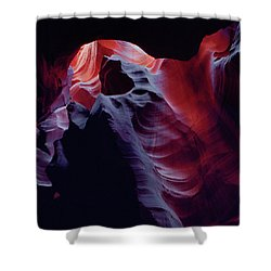 Arc Light-sq Shower Curtain