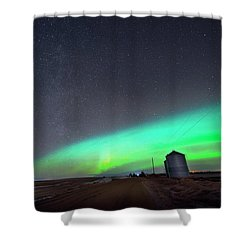 Arc Of The Aurora Shower Curtain by Dan Jurak