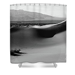 Shower Curtain featuring the photograph Arc Shadow by Suzanne Oesterling