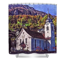 Arcadian Hamlet Shower Curtain