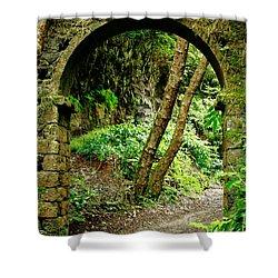 Arch Shower Curtain by Gaspar Avila