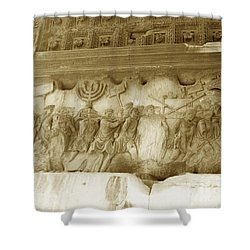 Arch Of Titus Shower Curtain by Photo Researchers, Inc.