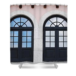 Arch Windows Shower Curtain by Rob Hans