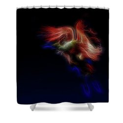 Archangel 2 Shower Curtain